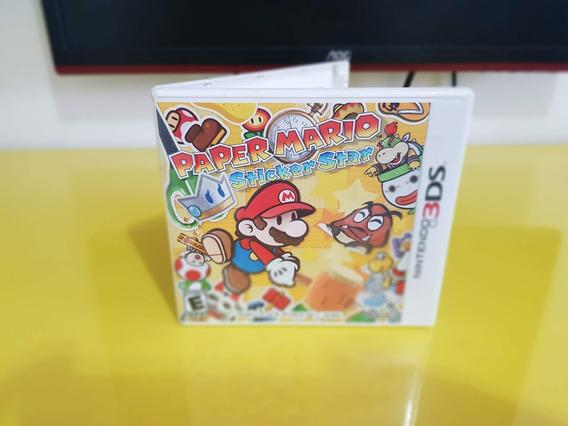 Jogo Paper Mario Sticker Star - Nintendo 3ds