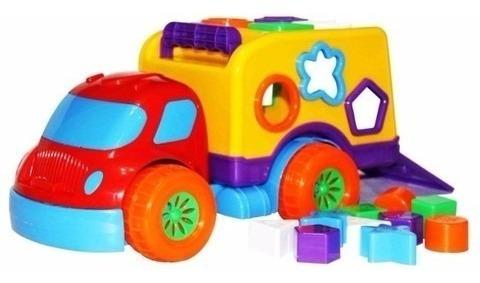 Carrinho Robustus Divertoys Brinquedo Educativo Baby Menino