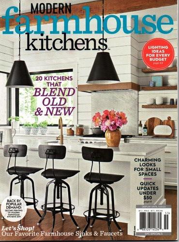 Revista Modern Farmhouse Kitchens - Cozinhas De Casas Rurais