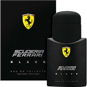 Ferrari Black Masculino De Ferrari Eau De Toilette 75 Ml