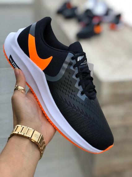 Tênis Nike Zoom Feminino 34 A 39 Laranja - Promoção