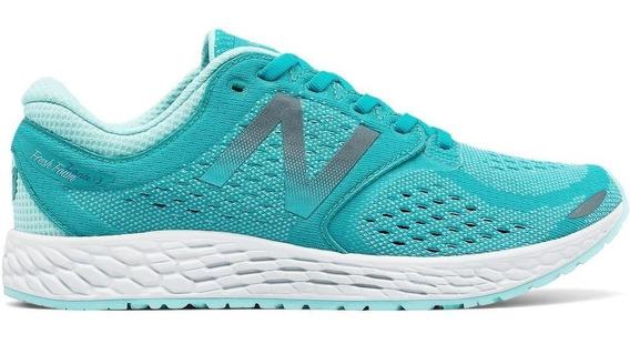 New Balance Zapatilla Running Mujer Wzanthb3 Aqua