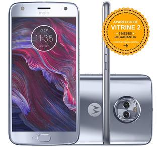 Motorola Moto X4 Xt1900 32gb 4g 12mp Azul Topazio Vitrine 2