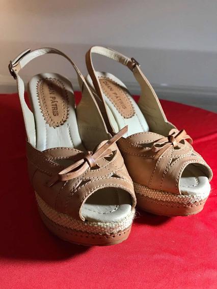 Sapato Peep Toe Salto Dian Pátris