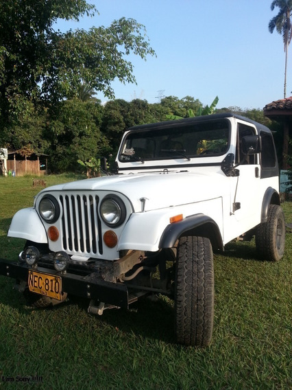 Jeep Cj7 Laredo 1981 Blanco
