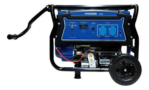 Generador Hydg4950e Hyundai A Gasolina
