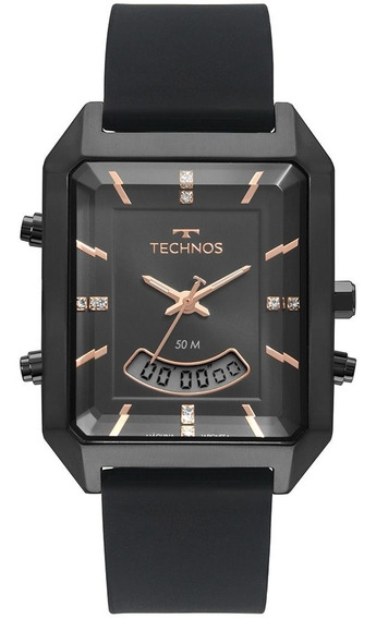 Relógio Technos Feminino Ana-digi Fashion Preto T200ai/2p