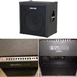 Amplificador Kustom 100 W Para Bajo
