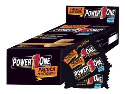 Paçoca Zero Power One 24 Unidades