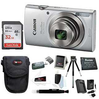 Cámara Digital Canon Powershot Elph 180 20 Mp