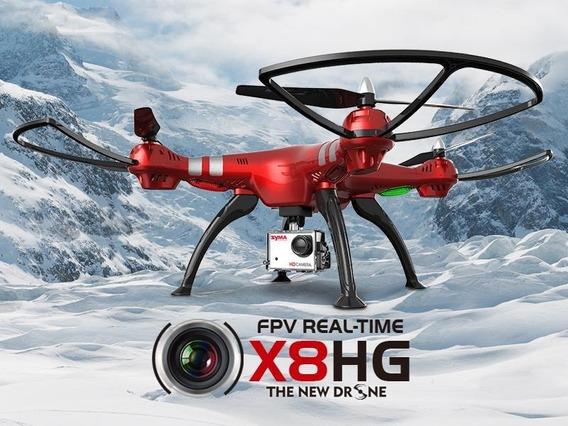 Drone Syma X8hg Camera 4k E 2 Baterias Importado Encomenda