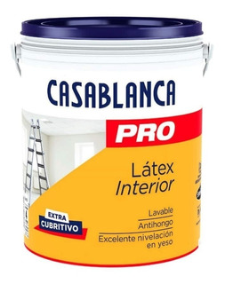 Latex Casablanca Pro Interior X 20 Lts Pintumm