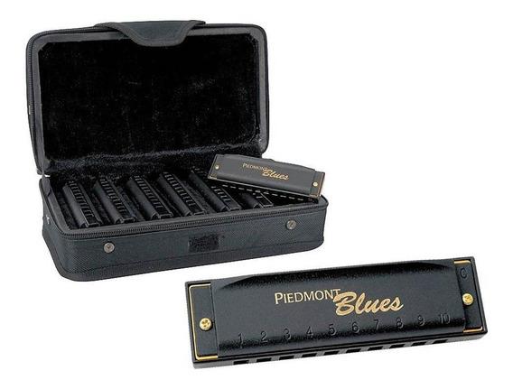 Armonica Hohner Piedmon Blues Set X 7 En A Bb C D E F Y G