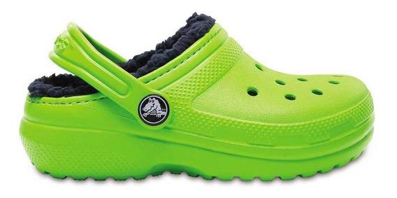 Crocs Originales Lined Clog Verde Nene Nena