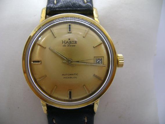 Reloj Haste De Luxe Original Automático Suizo Eta