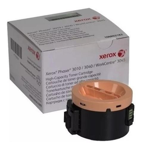 Imagen 1 de 1 de Tóner Xerox 106r02180 Negro Workcentre 3045, Phaser3010/3040