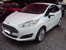 Ford Fiesta Sedan 1.6 16v Titanium Flex Powershift Ano 2017