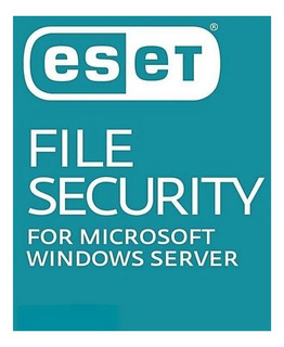 Eset File Security Antivirus Original 1 Servidor 1 Año