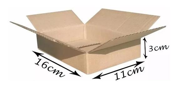 50 Caixas Papelão Correio Sedex Pac 16x11x3