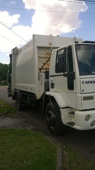 2 Ford Cargo 1722 E Compactador De Lixo 15 M³ Ano 09/10