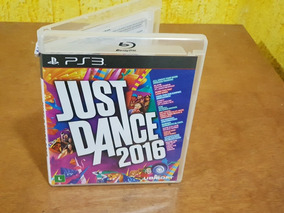Just Dance 2016 Usado Sem Manual Ps3 Mídia Física