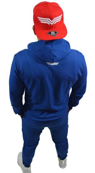 Conjunto Deportivo Pants Y Sudadera Chamarra Fugitive Trend
