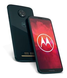 Motorola Moto Z3 Play L/fáb. 4g 128gb 6gb 12mp 5mp Sellado