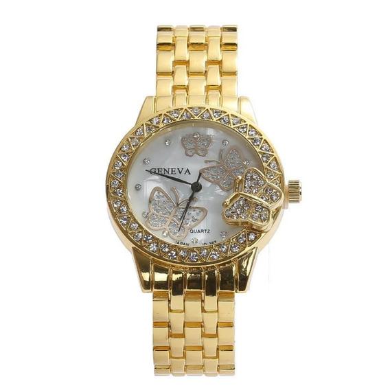 Relógio Feminino Frete Grátis Dourado Barato Top Luxo