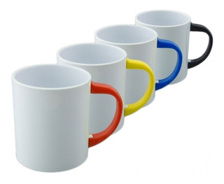 Tazas Asa Color Sublimables Polymer Polimero X 12 Unid.