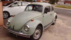Fusca Apto A Placa Preta New Car