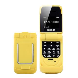 Long-cz J9 Bt Mini Flip Feature Phone 0.66 Polegadas 64mb