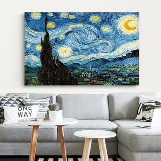 Noche Estrellada De Van Gogh 1000x700 Mm Sin Marco