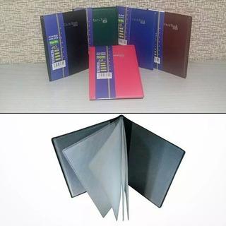 Porta Cartão Carteira Card Book 40 - Atacado 48 Unidades