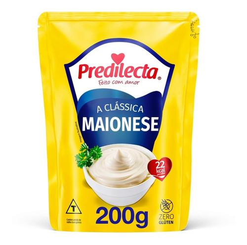 Maionese 200g Sachê Predilecta