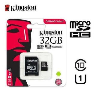 Tarjeta De Memoria Micro Sd 32gb Kingston Memoria