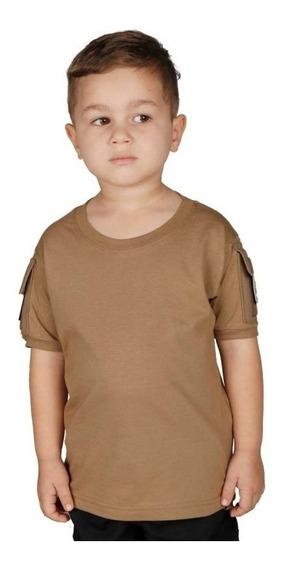 Camiseta Infantil Ranger Bélica Coyote