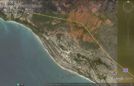 Solar En Pedernales Con 5.4 Millones De Metros 7 Km De Playa