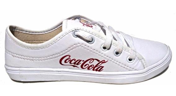 Sapatenis Tenis Alpargata Coca Cola Feminino Promoção