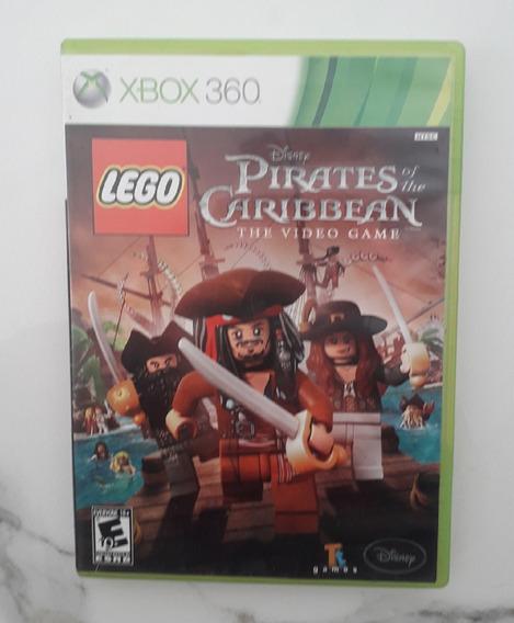 Jogo Lego Piratas Do Caribe Xbox 360 Midia Fisica Original