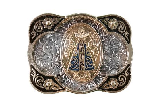 Fivela Pra Cowboy Nossa Senhora Aparecida Estilo Country!