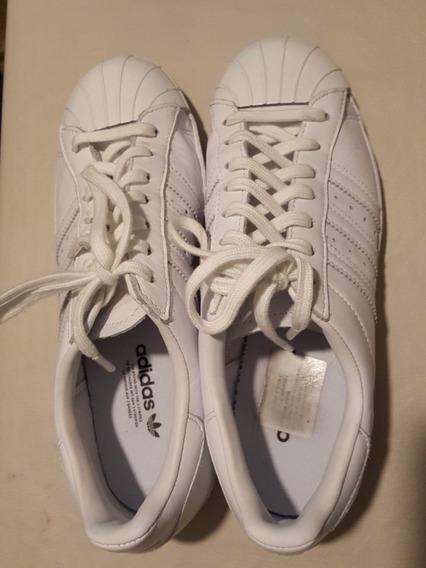 Zapatillas adidas Superstar Blancas Metal Toe 80s