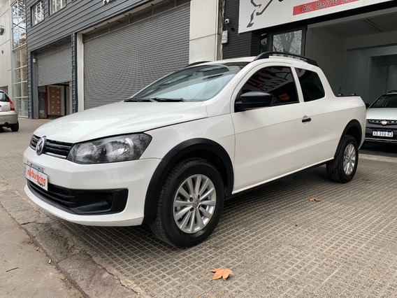 Volkswagen Saveiro 1.6 Cabina Doble Pack High 64.000km 2016!