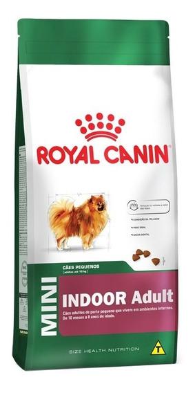 Ração Royal Canin Cães Mini Indoor Adult- 7,5kg