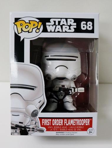 First Order Flametrooper Funko Pop Star Wars 68 Bonellihq L1