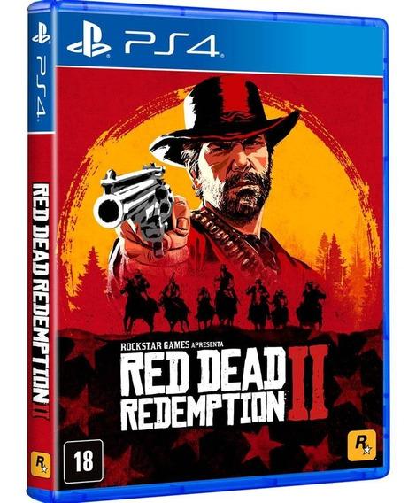 Red Dead Redemption 2 Ps4 - Jogo Mídia Física Em Português