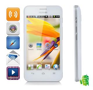 Huawei Y320 4 Polegada Dual Core Smart Phone Com 512 Mb Ram