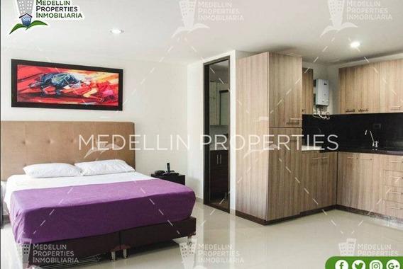 Apartamentos Amoblados Economicos En El Poblado Cod: 5062