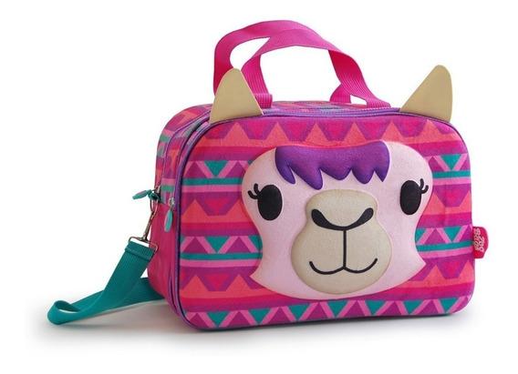 Bolso Zoo Bags 2 Cierres Con Frente 3 D Diseños Surtidos