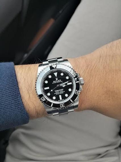 Relógio Rolex Submariner Preto