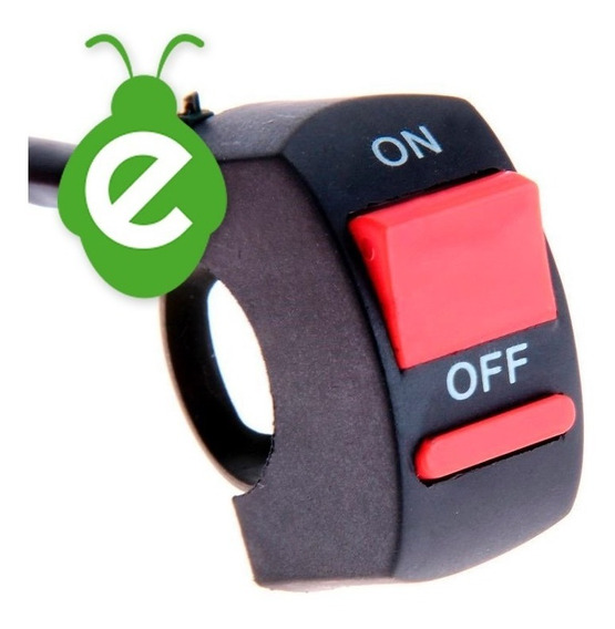 On/off Switch Llave Encendido Luces Auxiliares Moto